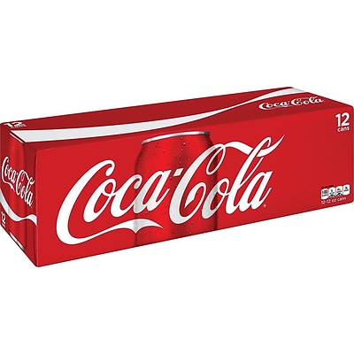 Coca-Cola Original Cola, 12 oz., 24/Carton (00049000028904)