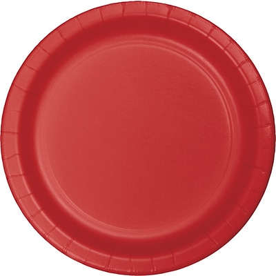 Celebrations Classic Red Paper Plates 8 pk (553548)