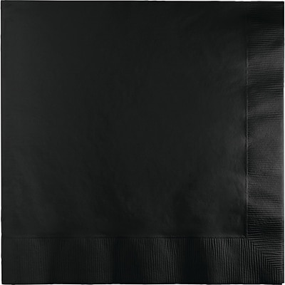 Touch of Color Black Napkins 50 pk (58134B)