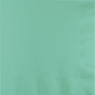 Touch of Color Fresh Mint Green Dinner Napkins 3 ply 25 pk (318889)