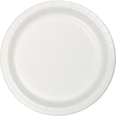Touch of Color White Dessert Plates 75 pk (753272B)