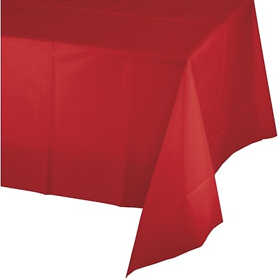 Celebrations Classic Red Plastic Tablecloth (913548)
