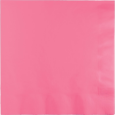 Touch of Color Candy Pink Dinner Napkins 3 ply 25 pk (593042B)