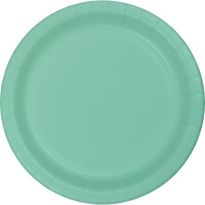 Celebrations Fresh Mint Green Dessert Plates 8 pk (324477)