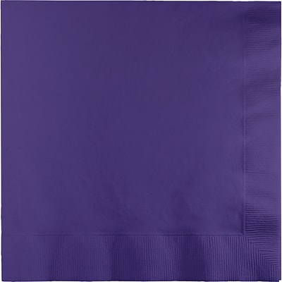 Touch of Color Purple Dinner Napkins 3 ply 25 pk (59115B)