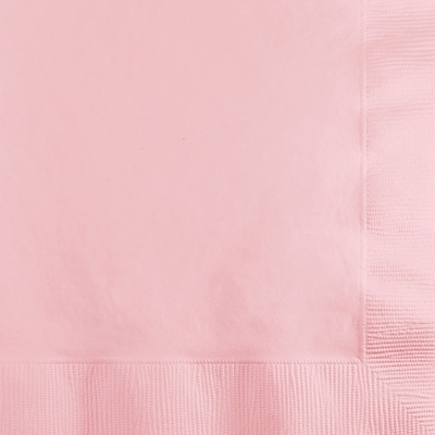 Touch of Color Classic Pink Beverage Napkins 3 ply 50 pk (57158B)