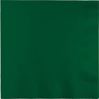Touch of Color Hunter Green Napkins 3 ply 50 pk (583124B)