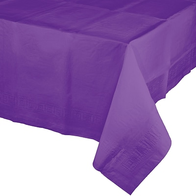 Touch of Color Amethyst Purple Paper Tablecloth (318936)