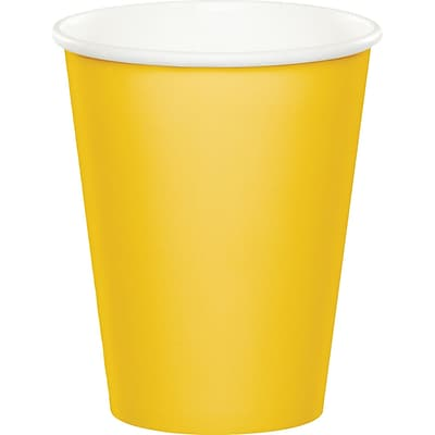 Celebrations School Bus Yellow Cups 8 pk (563269)
