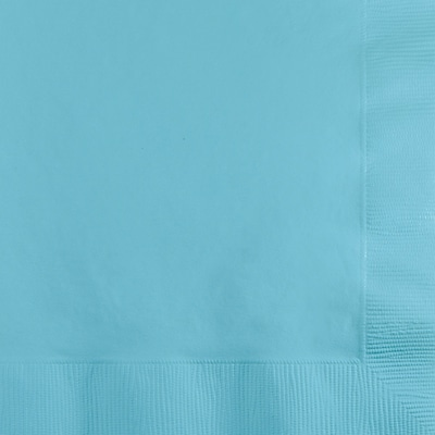 Touch of Color Pastel Blue Beverage Napkins 3 ply 50 pk (57157B)