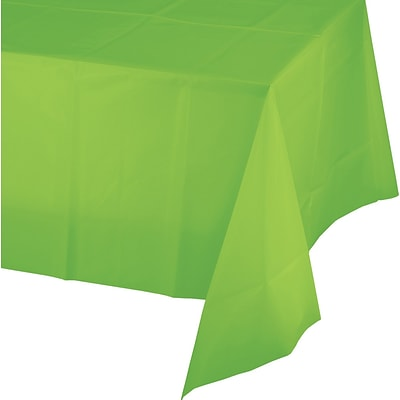 Celebrations Fresh Lime Green Plastic Tablecloth (513123)
