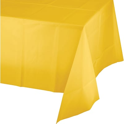 Celebrations School Bus Yellow Plastic Tablecloth (913269)