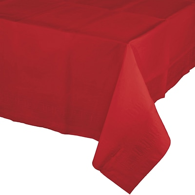 Touch of Color Classic Red Paper Tablecloth (711031B)