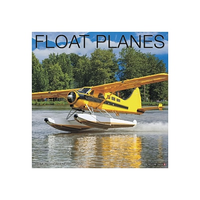 2020 Willow Creek 12 x 12 Wall Calendar, Float Planes, Multicolor (06313)