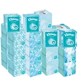 Kleenex Cool Touch Cooling Facial Tissue, 2-Ply, 45 Sheets/Box, 27/Carton (29388)