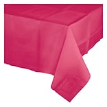 Celebrations Hot Magenta Pink Plastic Tablecloth (913277)