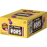 Tootsie Pops Lollipops, Assorted Flavors, 60 Oz., 100/Box (508)
