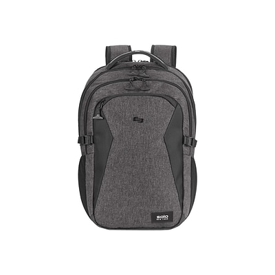 Solo New York Nomad Unbound Laptop Backpack, Solid, Gray (NOM701-10)
