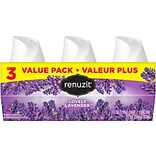 Renuzit Solid Air Freshener, Lovely Lavender, 7 oz., 3/Pack (DIA05341EA)