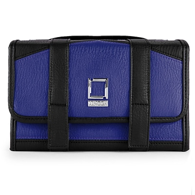 Lencca Stowaway Travel Organizer Compact Privacy Removable Compartment, Royal Black