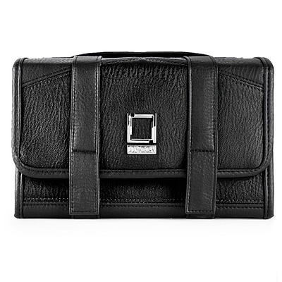 Lencca Stowaway Travel Organizer Compact Privacy Removable Compartment, Classic Black