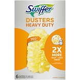 Swiffer Heavy Duty Duster Cloth Refills, Multicolor, 6/Pack (16944)