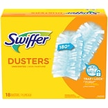 Swiffer Cloth Multi-Surface Refills, Blue, 18/Box (99036)