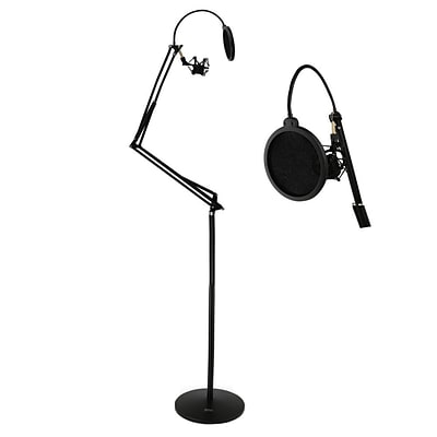Pyle PMKSH28 Floor-Standing Suspension Microphone Boom Stand