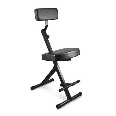 Pyle Pro Padded Musician & Performer Chair Seat Stool Black PKST70