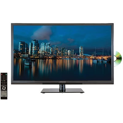 Axess TVD1801-32 32 Digital LED 720p HD TV with DVD Player, Black
