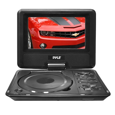 Pyle PDH7  7 Widescreen High Resolution Portable Monitor w/ Built-In DVD