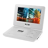 Pyle Home PDV91WT 9'' Portable CD/DVD Player, White