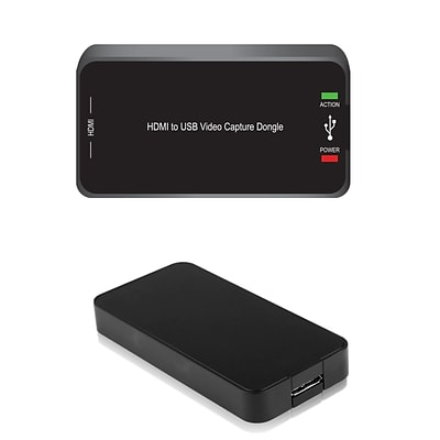 Pyle Home PVRC46 HD External Capture Card Recording System Black