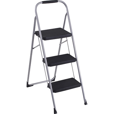 Cosco Big Step 3.8H Steel Folding Step Stool (11408PBL1E)