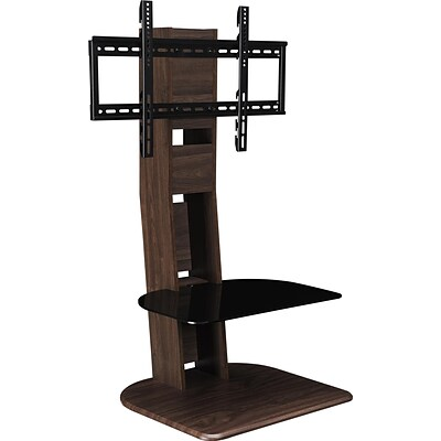 Galaxy TV Stand with Mount for TVs up to 50, Walnut (1705196)