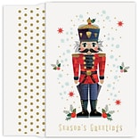 JAM Paper® Christmas Cards Boxed Set, The Nutcracker, 18/Pack