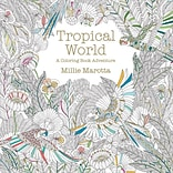 Lark Books Tropical World Adult Coloring Book