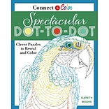 St. Martins Books-Connect & Color: Spectacular Dot-To-Dot Adult Coloring Book