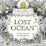 Random House Books-Lost Ocean Adult Coloring Book