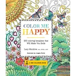 Race Point Publishing Adult Coloring Books-Color Me Happy
