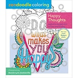 St. Martins Books-Zendoodle Adult Coloring Book: Happy Thoughts
