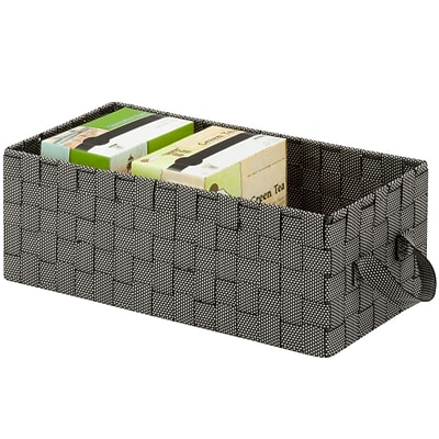 Woven Media Basket-Salt & Pepper