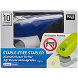 Staple-Free Stapler-Blue