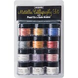 Jacquard PearlEx Metallic Calligraphy Set-Assorted Colors
