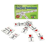 Learning Advantage The Original Fraction Dominoes, Grades 3-7 (CRE4080)