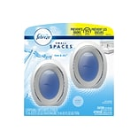 Febreze Small Spaces Passive Air Fresheners, Linen & Sky, 0.25 Fl. Oz., 2/Pack (93326)