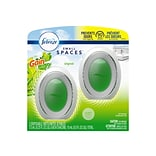 Febreze Small Spaces Passive Air Fresheners, Gain Original, 0.25 Fl. Oz., 2/Pack (93330)