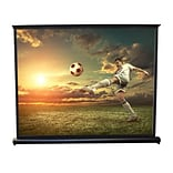 Pyle 50-inch Projector Viewing Display Screen, 9359914M Manual Retractable Pull-Out Style
