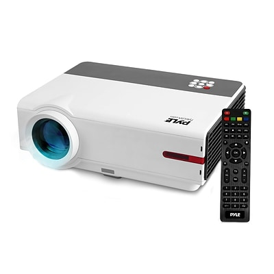 Android HD Home Theater Smart Projector 93599129M 1080p Support White
