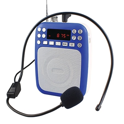Supersonic 93598432M Bluetooth Portable PA System - Blue